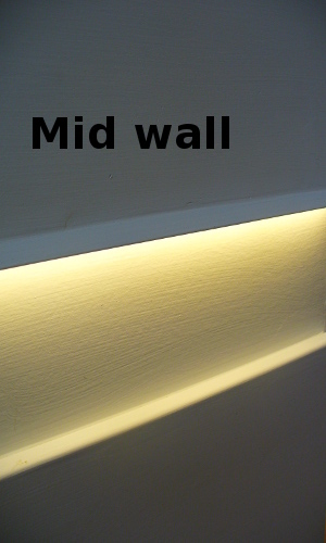 middle of the wall lighting